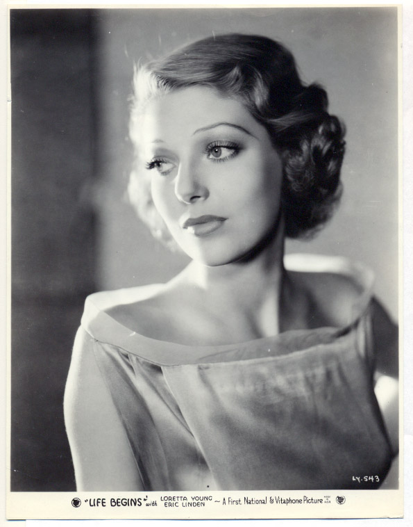 Loretta Young in Life Begins (1932)
