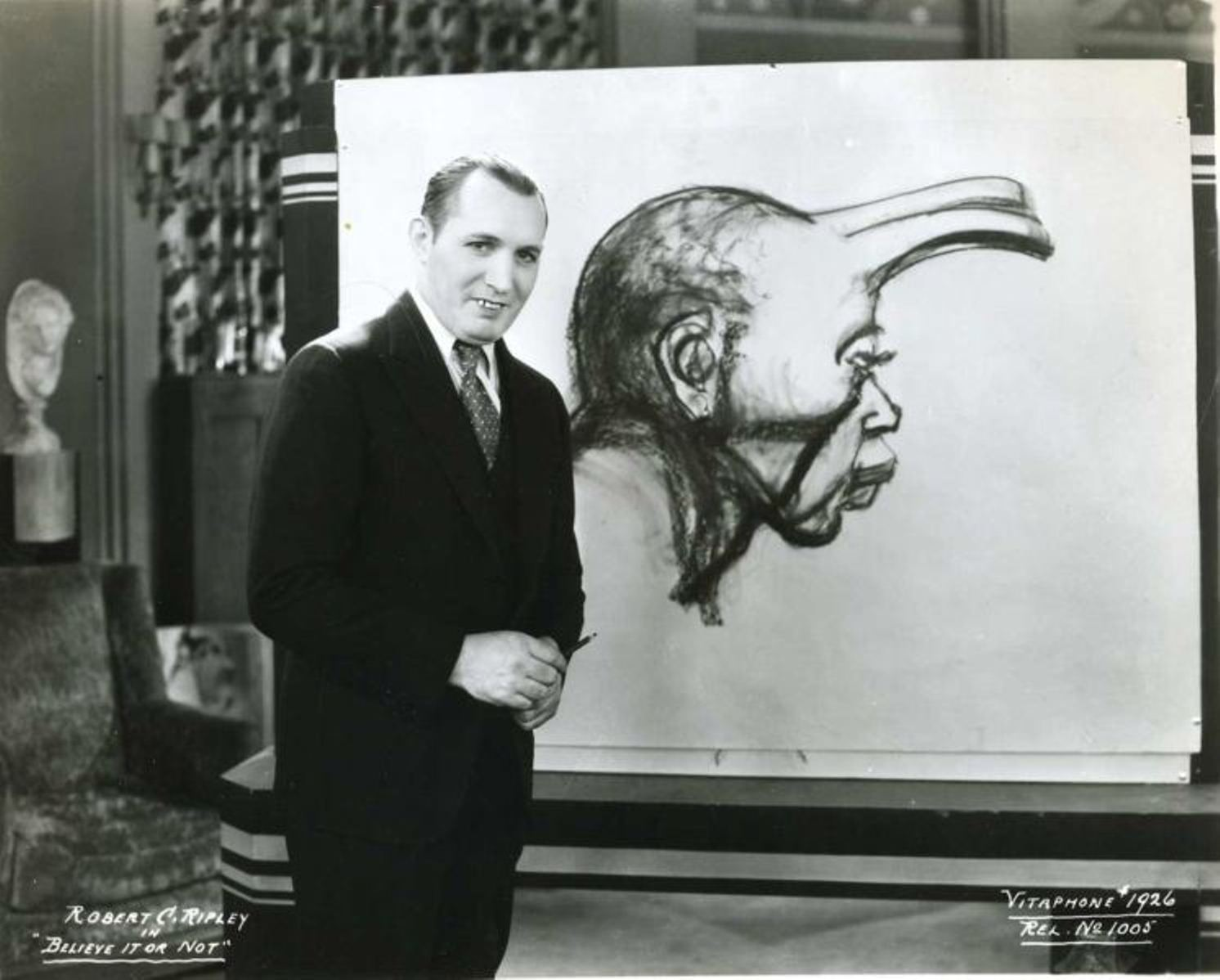 Robert Ripley in Believe It Or Not