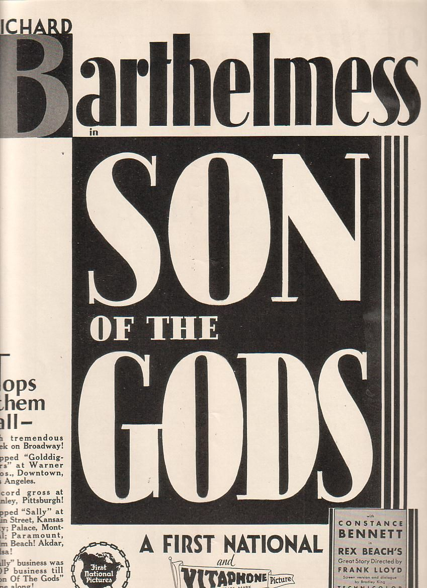 Son of the Gods