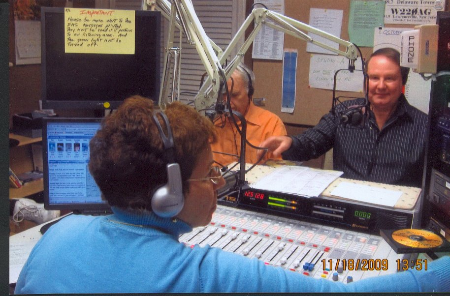 Ron Hutchinson on the air!