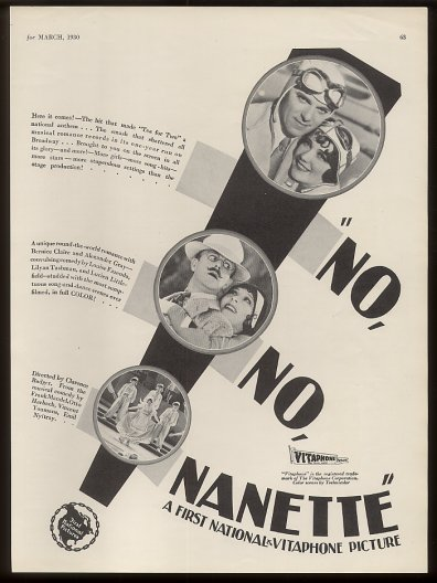 No No Nanette Advertisement