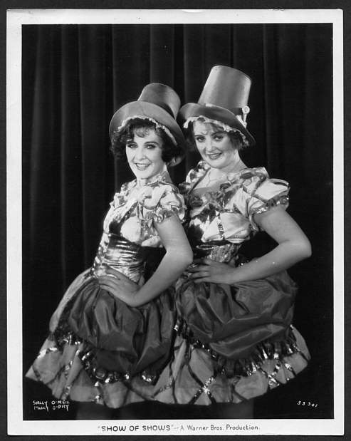 Sally O'Neil & Molly O'Day in The Show Of Shows