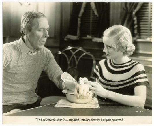 George Arliss & Bette Davis in The Working Man